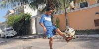 11 Year Old Freestyle Footballer From Africa