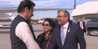 Prime Minister Imran Khan Reaches New York