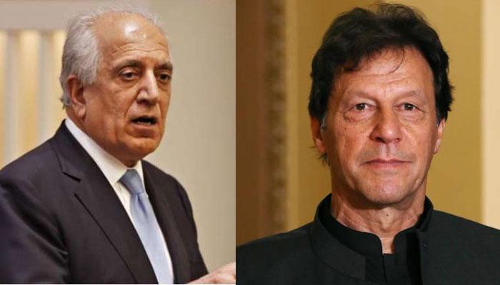 زلمے خلیل زاد نے وزیراعظم عمران خان کو صدر ٹرمپ کا پیغام پہنچایا