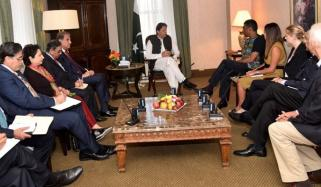 Amnesty International Secretary General Komi Naidoo Called On Pm Imran Khan