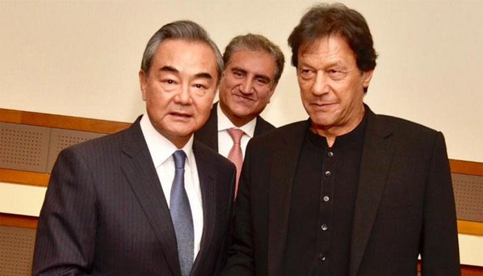 وزیراعظم عمران خان سے چینی وزیر خارجہ کی ملاقات