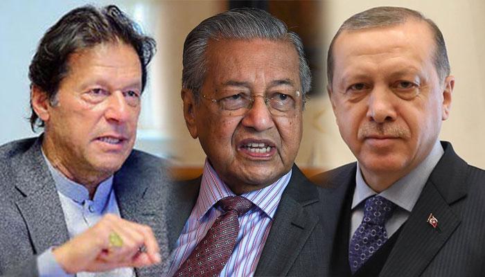 پاکستان،ترکی اور ملائیشیا اہم ایشوز پر یکجا ہوگئے