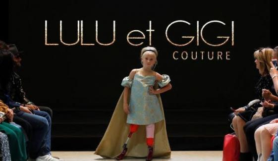 9 Year Old Amputee Model Walk In Paris Fashion Week 2019