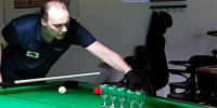 Swedish Pool Player Demonstrates His Mind Blowing Trick Shots