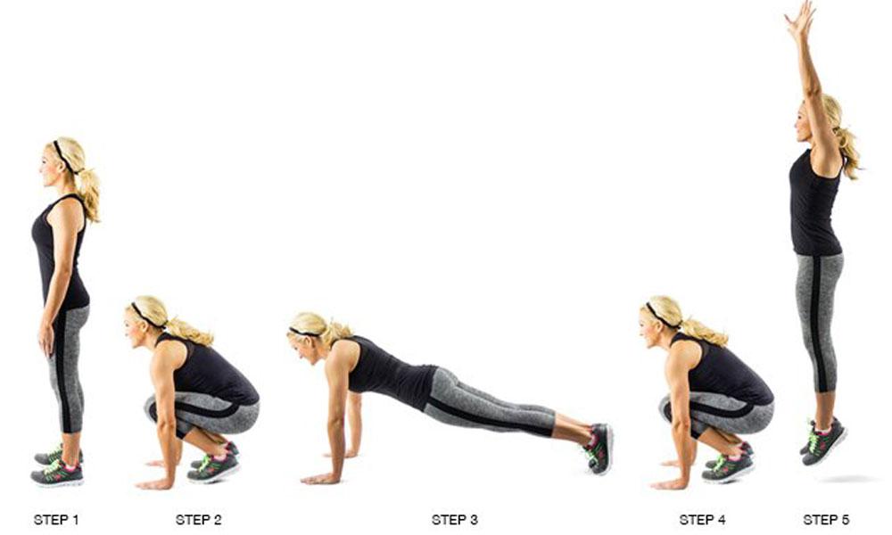 تیزی سے وزن گھٹانے والی 3 ورزشیں
