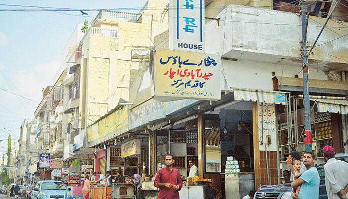 'حیدرآباد کالونی' کے اچار اور چٹنیاں