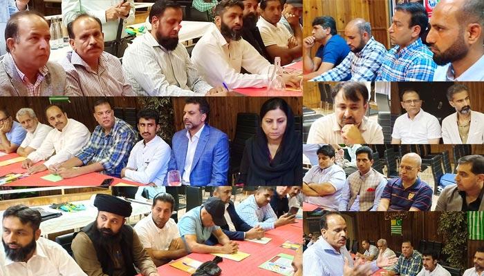 بارسلونا: آل پارٹیز کشمیر کانفرنس، کشمیری و پاکستانی کمیونٹی کی شرکت