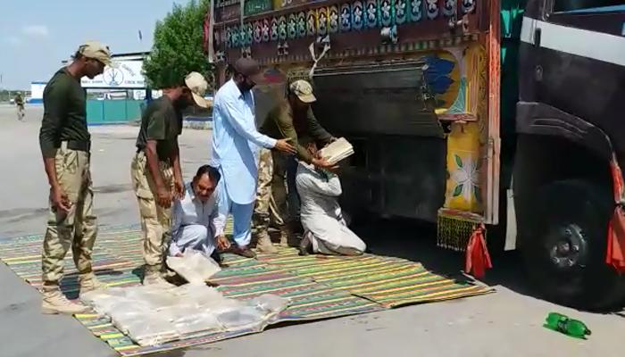 بلوچستان سے چرس، چھالیہ اور انڈین گٹکا برآمد