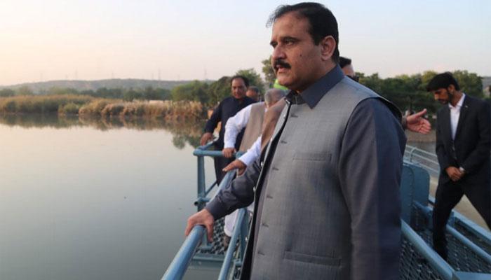 چکوال: عثمان بزدار نے کئی منصوبوں کا سنگ بنیاد رکھ دیا