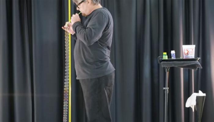 امریکا: پانی کے43بلبلوں سے زنجیر بنانےکا گنیز ریکارڈ قائم