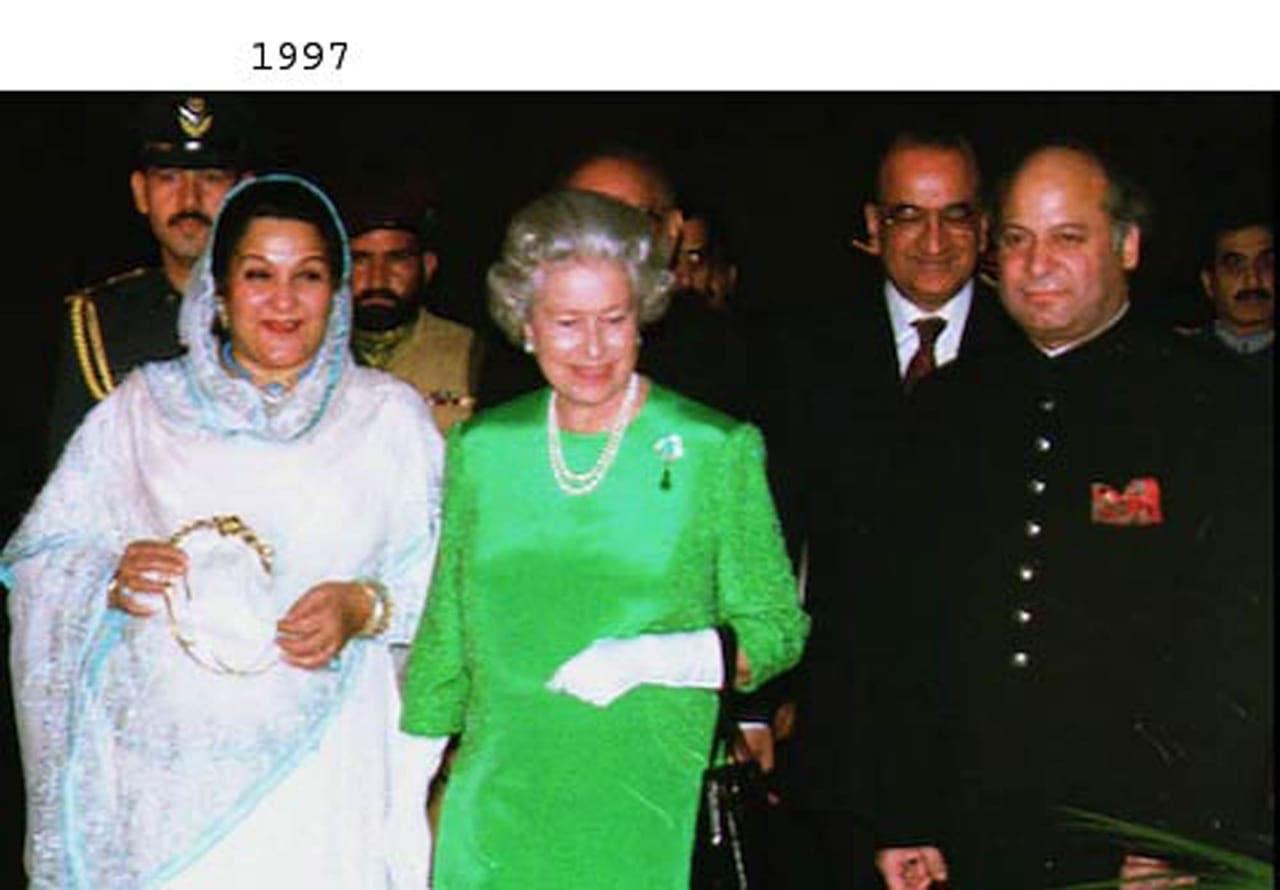 برطانوی شاہی خاندان کی پاکستان آمد ۔1961 سے2006 کی چند جھلکیاں