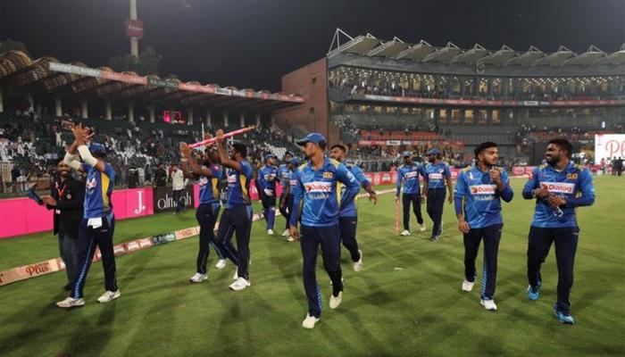 ٹیم سری لنکا کامیاب دورے کے بعد وطن روانہ