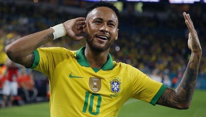 نیمار برازیل کی جانب سے 100 میچ کھیلنے والے کم عمر ترین کھلاڑی بن گئے