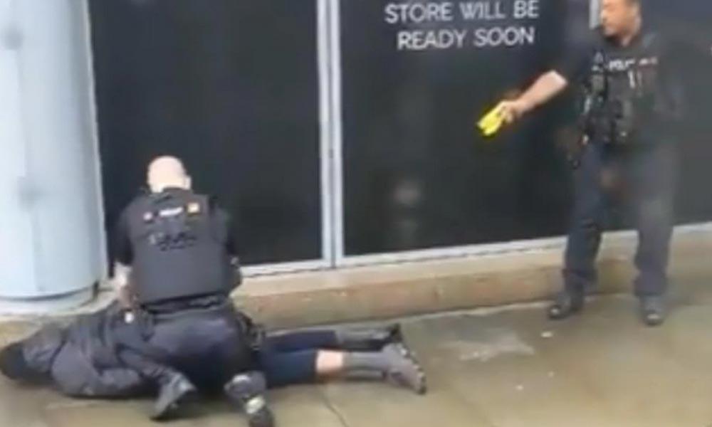برطانیہ : مسلح شخص نے چاقو کے وار سے 5 افراد کو زخمی کردیا