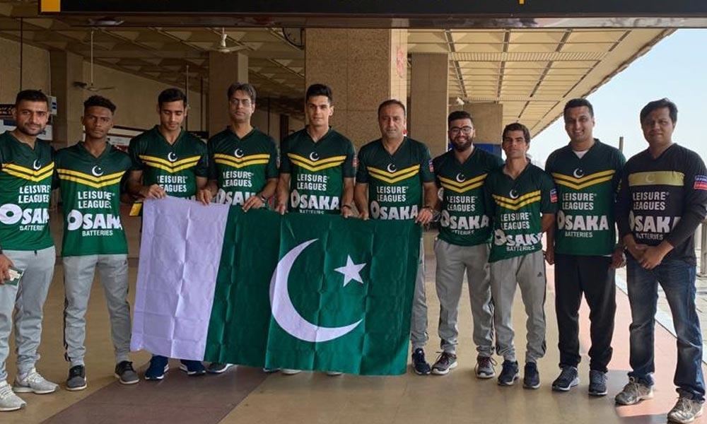 سوکا ورلڈ کپ میں شرکت کیلئے پاکستانی ٹیم یونان پہنچ گئی