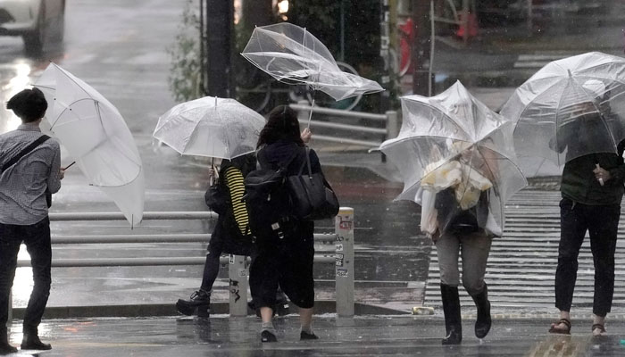 جاپان کی تاریخ کا خطرناک ترین طوفان ٹوکیوسےٹکراگیا