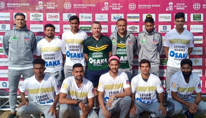 سوکا ورلڈ کپ: قومی ٹیم نے  ٹریننگ شروع کردی