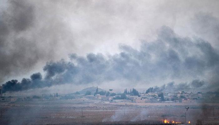 شام میں ترک فوج نے امریکی فوجی مورچے کے قریب گولہ باری کی، پینٹاگون