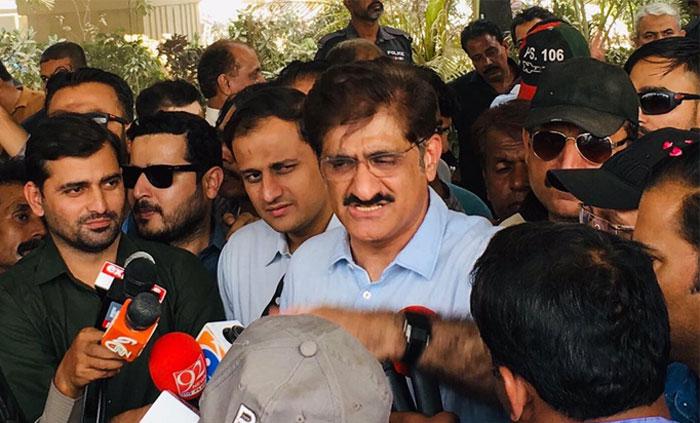 شہر سے 70 فیصد کچرا اٹھالیا گیا ہے ، وزیر اعلیٰ سندھ