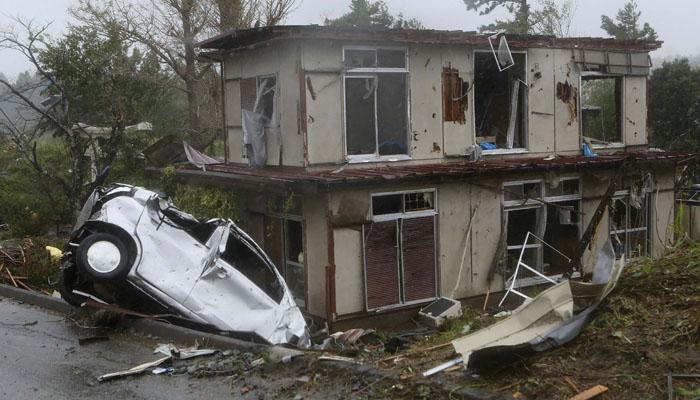 جاپان میں سمندری طوفان سے 35 افراد ہلاک
