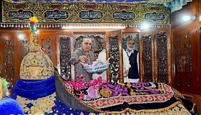 شاہ عبدالطیف بھٹائی کے 276 ویں عرس کا آغاز