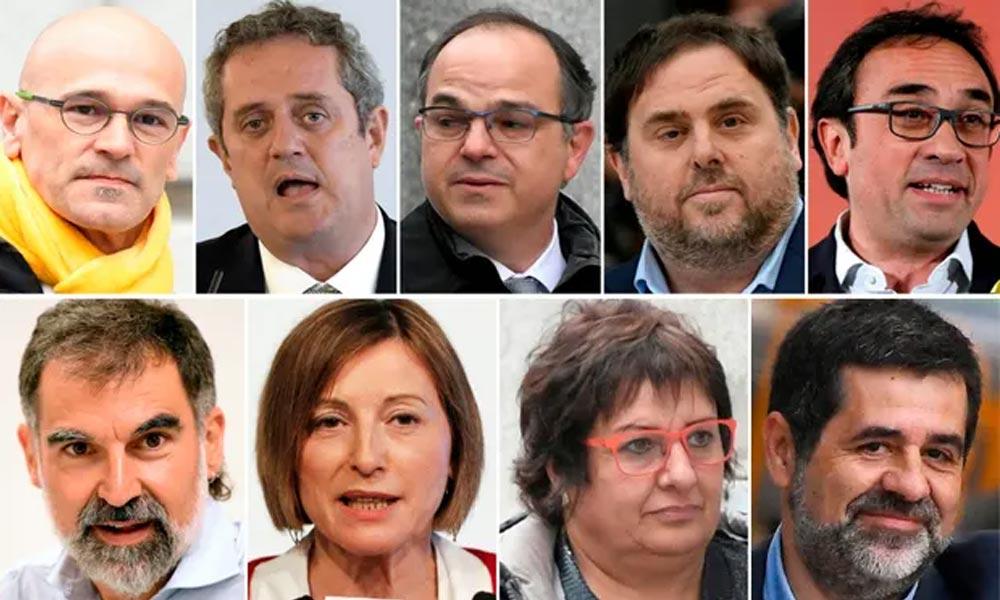 اسپین: کاتالونیا کے نائب صدر سمیت کئی وزراء کو سزا سنا دی گئی