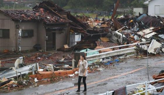 Rescue Efforts Underway In Japan After Deadly Typhoon Hagibis