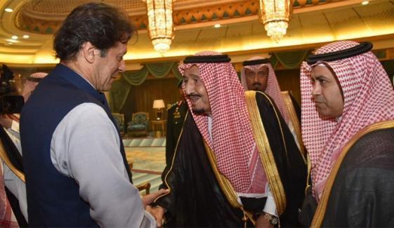 Pm Meets Salman Bin Abdul Aziz In Riyadh