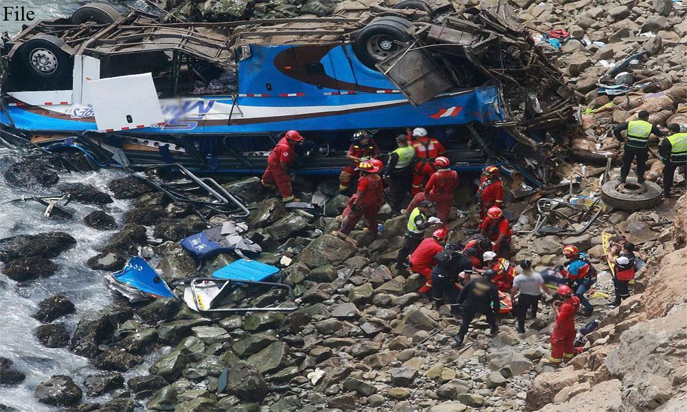 چترال: کوچ دریا میں گر گئی، 6 مسافر جاں بحق