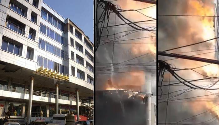 گجرات، شاپنگ مال میں خوفناک آتشزدگی