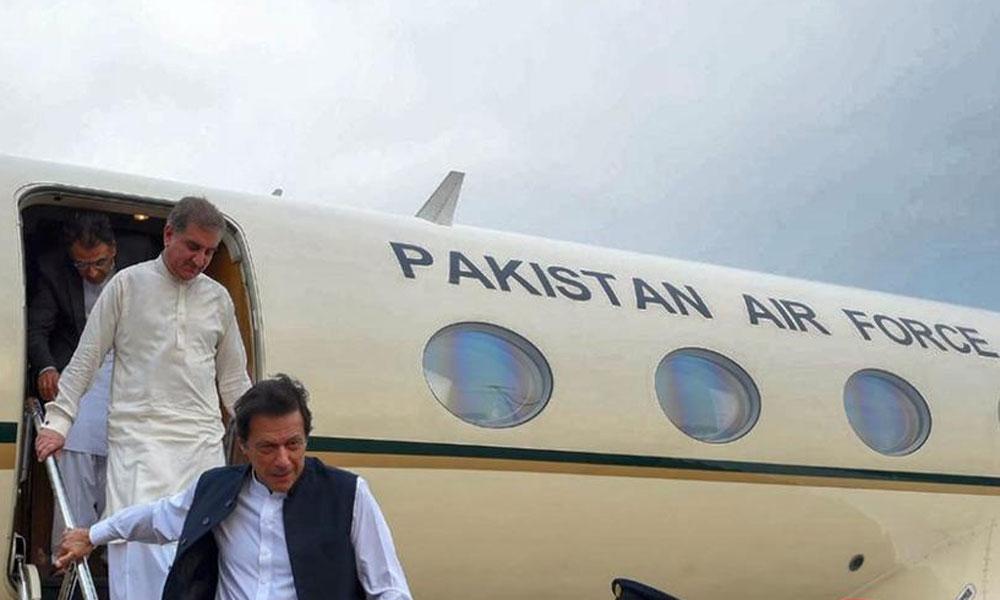وزیرِ اعظم عمران خان وطن واپس پہنچ گئے