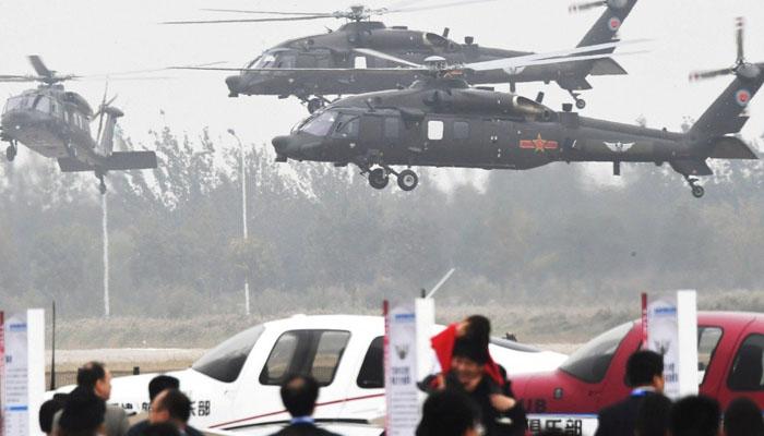 چین میں بین الاقوامی ہیلی کاپٹر ایکسپو اختتام پذیر