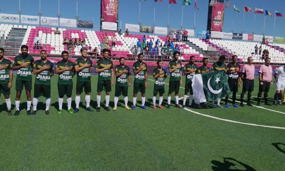 سوکاورلڈ کپ، پاکستانی ٹیم کو دوسرے میچ میں بھی شکست