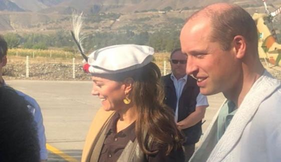 British Royal Couple Duke And Duchess Of Cambridge Reach Chitral