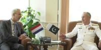 Naval Chief Held Meeting With Netherlands Ambassador