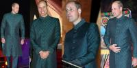 William Becomes The First British Royal To Wear A Traditional Sherwani