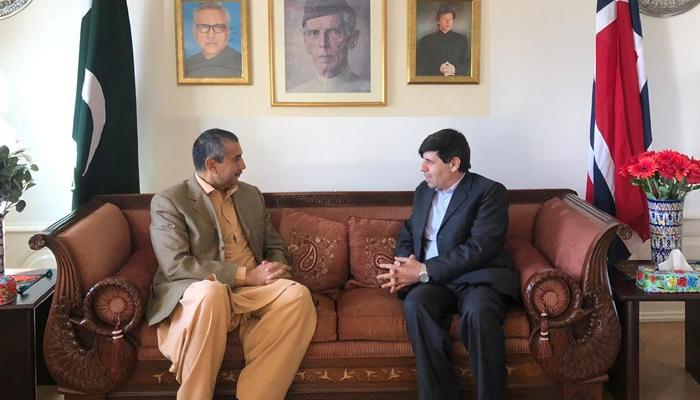 'نارویجن پارلیمنٹ میں آئندہ ہفتے مسئلہ کشمیر پر بات ہوگی'