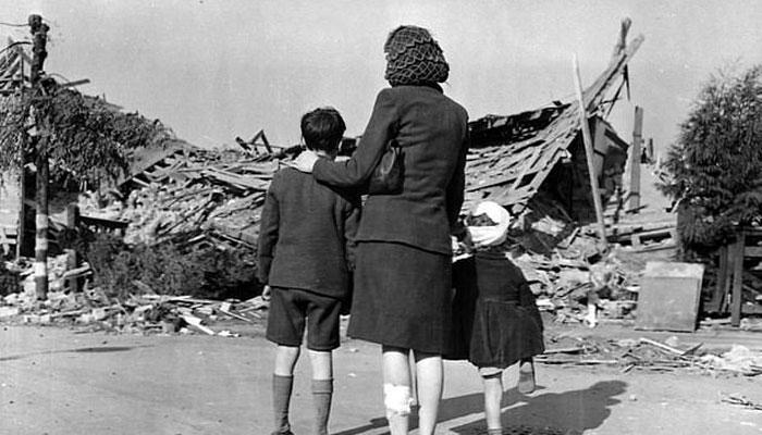 نازیوں نے برطانیہ میں کہاں کہاں بم گرائے، نقشہ تیار