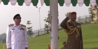 Oman Chief Of Staff Visit Nval Headquarters Islamabad