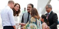 Royal Couple Reached Lahore