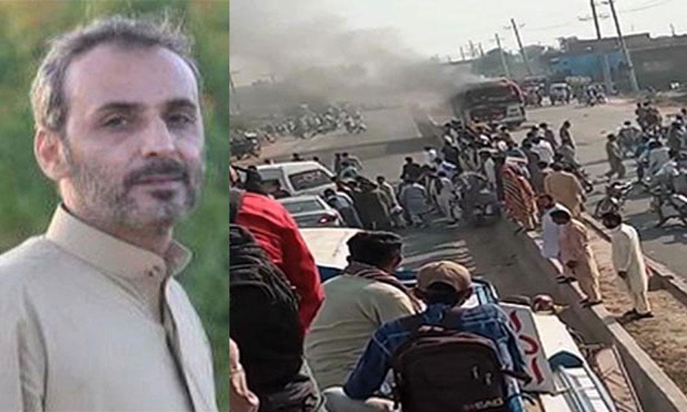 قلات: ٹریفک حادثے میں کمشنر مکران سمیت 4 جاں بحق