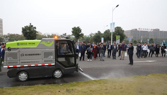 چین: سڑکوں کی صفائی اب ڈرائیور لیس ٹرک کرینگے