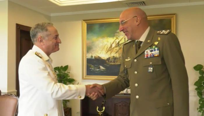 اٹلی کے سیکریٹری جنرل ڈیفنس کی سربراہ پاک بحریہ سے ملاقات