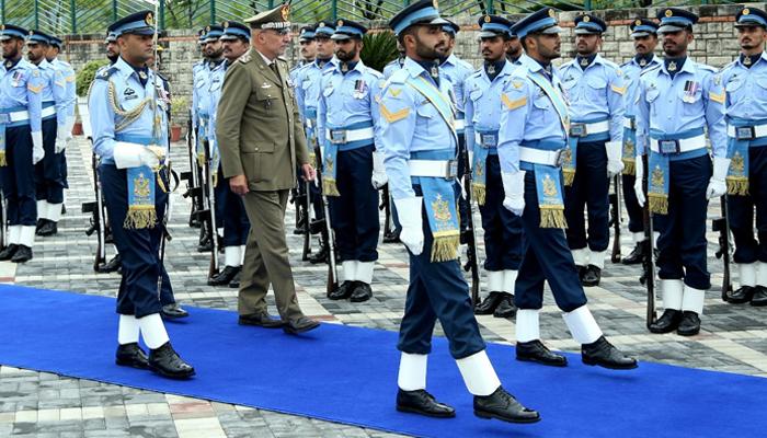 اطالوی سیکرٹری جنرل ڈیفنس کا ائیر ہیڈ کوارٹرز کا دورہ