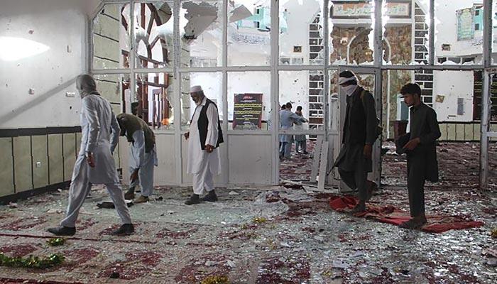 افغانستان: مسجد میں دھماکا، 28 نمازی جاں بحق