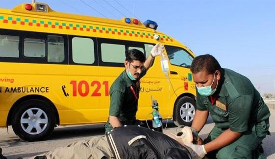 Sindh Govt Aman Foundation Ambulance Service Closed