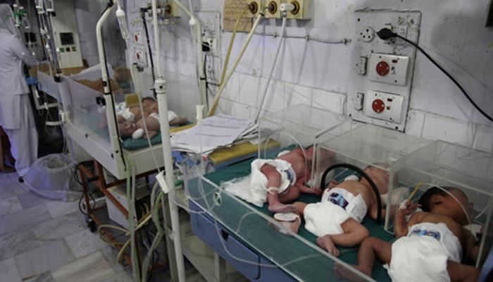 جیکب آباد کے نجی اسپتال میں 4 نومولود جاں بحق