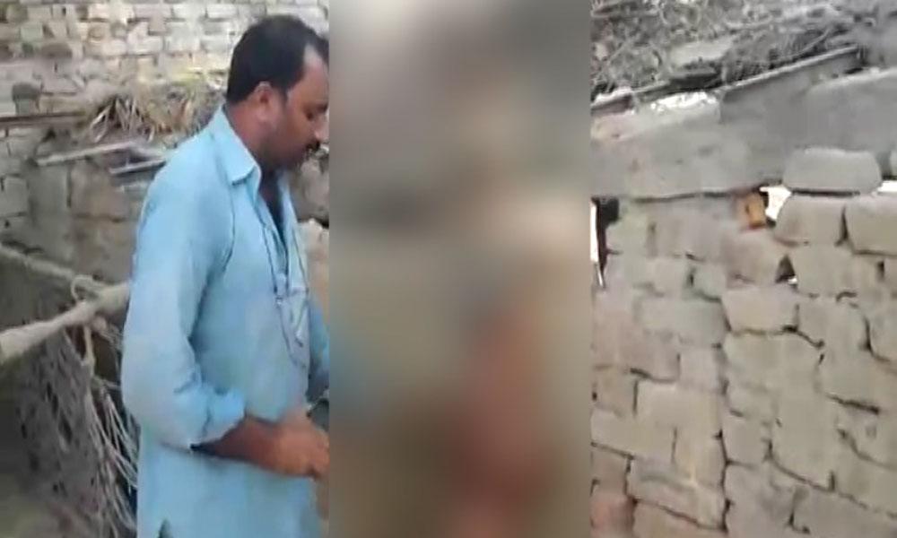 اوکاڑہ: ماں سے ملنے والے 4 بچوں پر چچا کا وحشیانہ تشدد