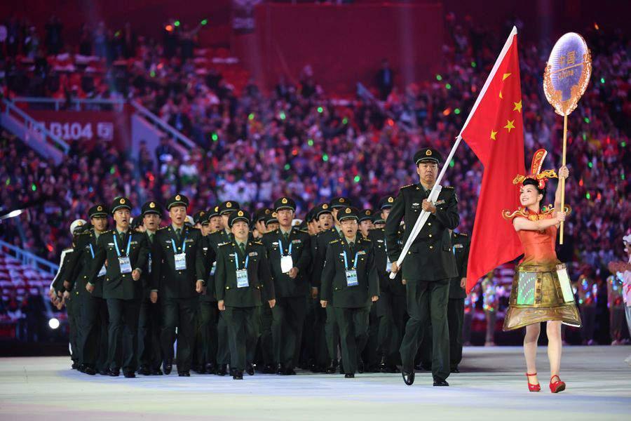 چین میں 7ویں انٹرنیشنل ملٹری گیم کا شاندار آغاز