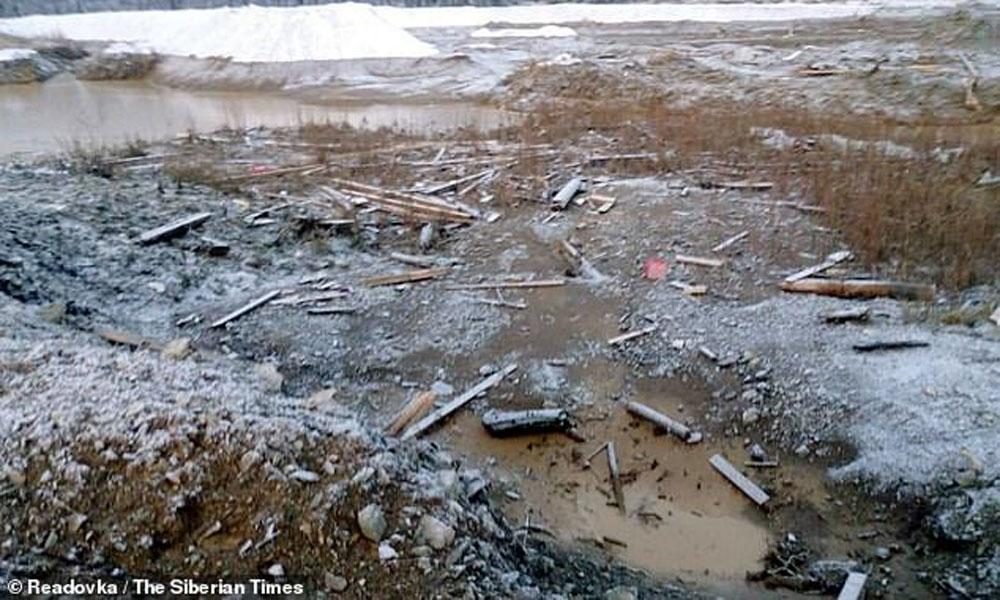 سائبیریا: ڈیم ٹوٹ گیا، سونے کی کان میں 13 مزدور ہلاک